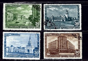 Russia 1134-37 CTO 1947 issues    (ap1970)
