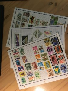 Small collection of Congo stamps