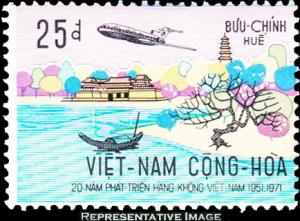 Vietnam Scott 423 Used.