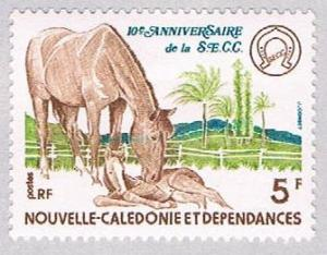 New Caledonia 433 MLH Mare and Foal 1977 (BP2779)