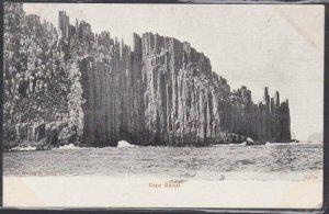 TASMANIA 1905 postcard Hobart to New Zealand - view of Cape Raoul..........53732