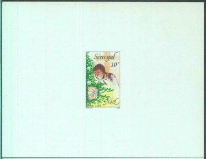 88809 - SENEGAL  - set of 2 DELUXE Souvenir Sheet PROOF - 1989  CHRISTMAS