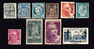 FRANCE STAMP COLLECTION LOT  M2