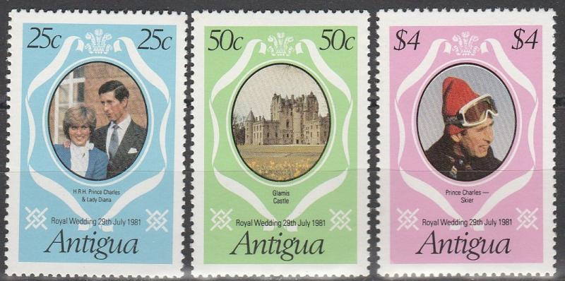 Antigua #623-5  MNH VF (V3964)