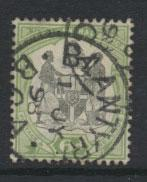 Nyasaland (British Central Africa) BCA SG 46 used