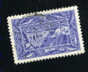 Canada #302   -3   used   VF  PD