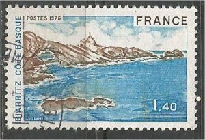 FRANCE, 1976 used 1.40fr, Biarritz, Scott 1471