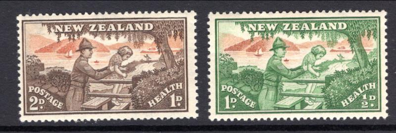 New Zealand B28-B29 MNH VF