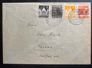 1948 Murnau Germany Cover Locally Used Sc#600-02