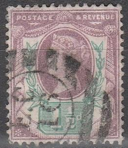 Great Britain  #112  F-VF  Used CV  $8.25  (A8348)