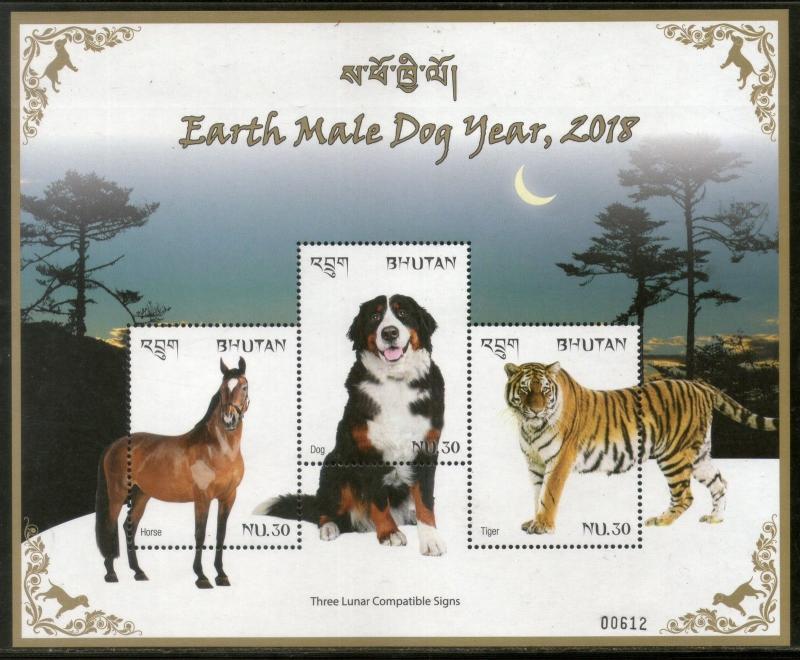 Asia Stamps Bhutan 1997 Wildlife Panda Polar Bear Koala Animals Sc 1145 Sheetlet Mnh # 13269