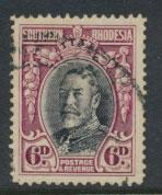 Southern Rhodesia SG 20b Perf 14  Used