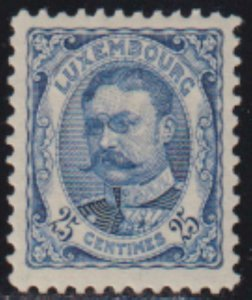 Luxembourg 1906-1926 SC 86 MLH