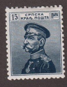 Serbia 115 Gen. Karageorgevich 1914