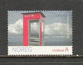 NORWAY Sc# 1583 USED FVF Telephone Booth