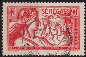 SENEGAL [1937] MiNr 0168 ( O/used )