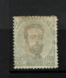Spain SC# 183, Mint No Gum, multi Hinge Remnants, some bending - S6927