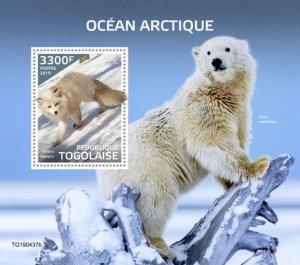 TOGO - 2019 - Arctic Ocean - Perf Souv Sheet  - M N H