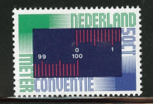 Netherlands Scott 531 MNH** 1975 Metric Scale stamp
