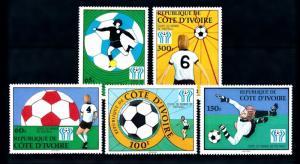 [60657] Ivory Coast 1978 World Cup Soccer Football Argentina MNH