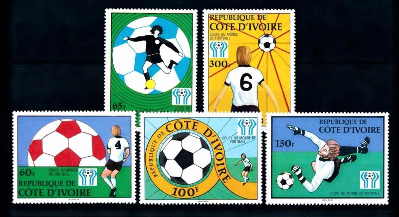[60657] Ivory Coast 1978 World Cup Soccer Football Argentina MNH