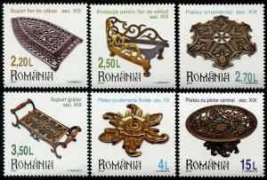 HERRICKSTAMP NEW ISSUES ROMANIA Sc.# 6080-85 Museum Collection