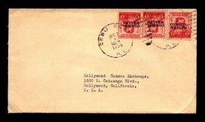 Philippines 1938 Cebu Cebu Cover to USA / Light Edge Creasing - L22587