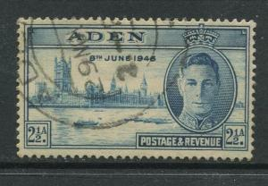 STAMP STATION PERTH Aden #29 Peace Issue 1946 Used CV$1.00.