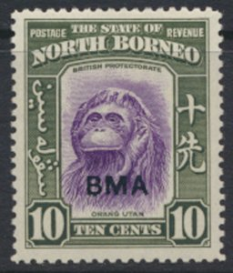 North Borneo  SG 326 SC# 214 MLH  OPT BMA  See scans / details