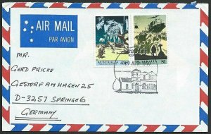 AUSTRALIA 1990 cover to Germany - nice franking - .........................47303