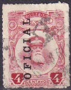 Mexico #O116  F-VF Used  CV $35.00 (A19374)