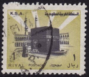 Saudi Arabia - 1983 - Scott #882b - used - Holy Ka'ba