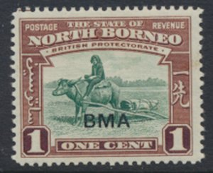 North Borneo  SG 320 SC# 208 MVLH  OPT BMA  See scans / details
