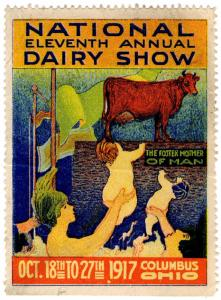 (I.B) US Cinderella : National Dairy Show (Columbus 1917)