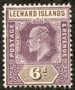 Leeward Isl, Scott #25 Unused, Hinged