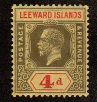 Leeward Islands #73  Mint  Scott $4.00