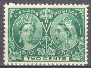 Canada #52 Mint VF OG NH C$150.00 -- Jubilee