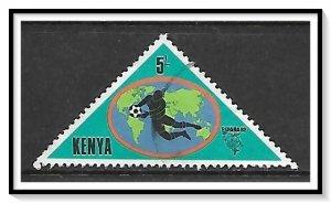 Kenya #227 World Cup Soccer Used