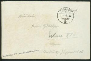 3rd Reich Waffen SS-Infanterie-Regiment 9 SS-Division Nord Feldpost 41821