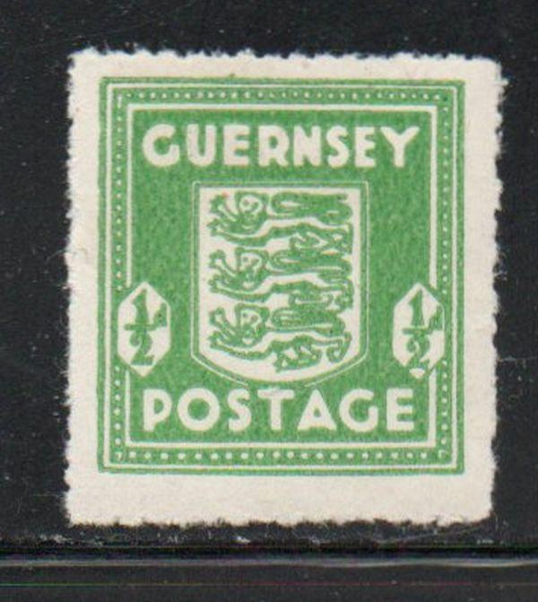 Guernsey Sc N1 1943 1/2d German Occupation stamp mint