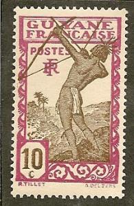 French Guiana        Scott 114     Archer     Unused