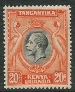 Kenya & Uganda - Scott 50- KGV Definitive -1935 - MVLH - Single 20c Stamp