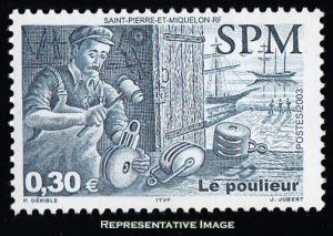 Saint Pierre & Miquelon Scott 760 Mint never hinged.