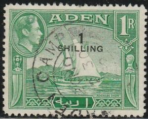 Aden, #43 Used From 1951
