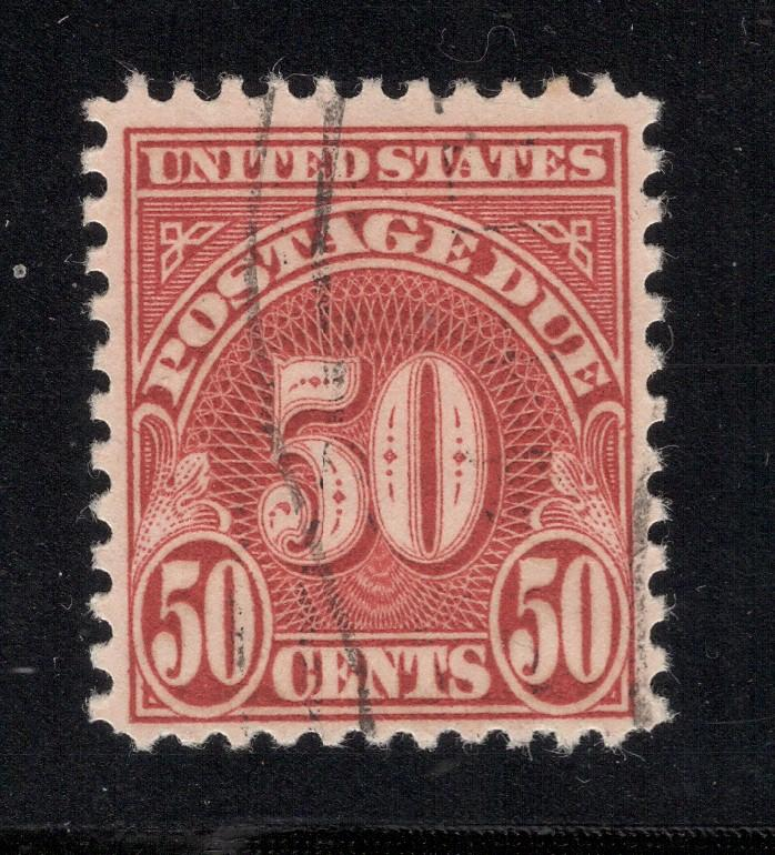 US# J86 - 50 Cents Postage Due - Used