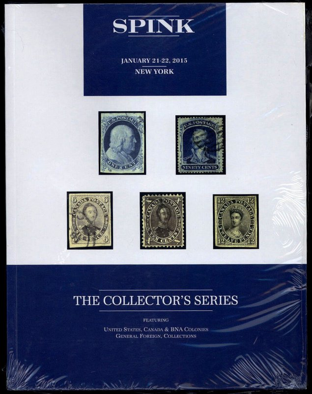Spink auction catalog: The Collector's Series January 21-22, 2015