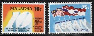 Malaysia Scott 155-156 MNH** set