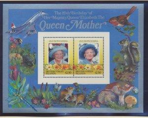 Virgin Islands (British) Stamps Scott #518-9, Mint Never Hinged, Souvenir Sheets