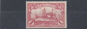 CAROLINE ISLAND 1901   S G 22    1M  CARMINE       MH