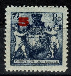 Liechtenstein #70 F-VF Unused  (SU8677)